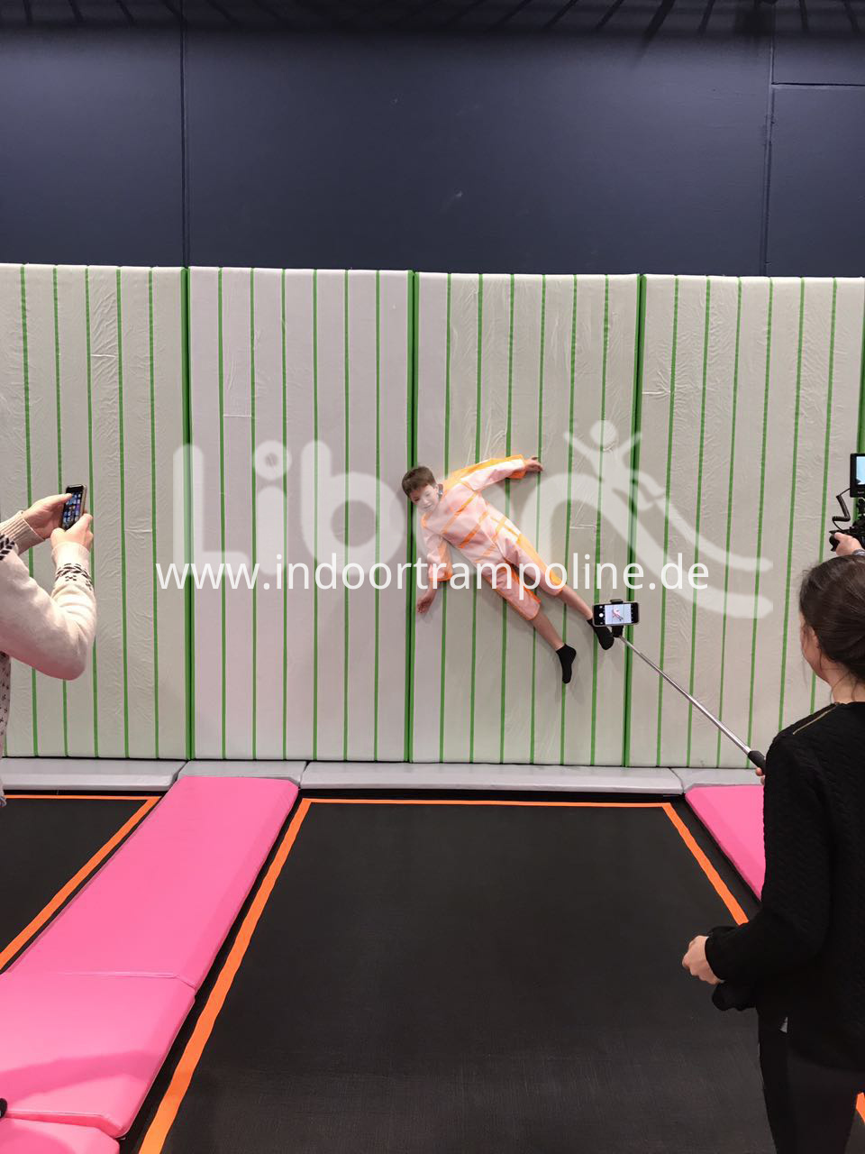 Jumping Fitness Trampoline