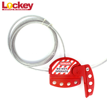 Cheap Retractable Wire Lockout Tagout Cable Lockout
