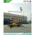14m Self-propelled Articulating Trailer Boom Lift