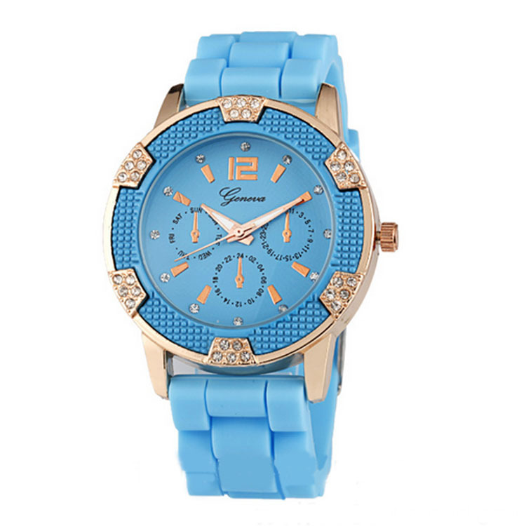 2016 New Popular Girls Silicone Modify Wristwatches