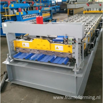 840 Roof tile machine Sheet steel roof machine Cut system roof tile machine
