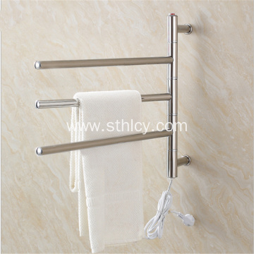 Stainless Steel Electric Towel Rack Bathroom Drying Rack