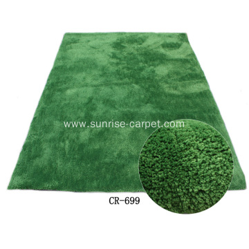 Microfiber Shaggy with Plain Color