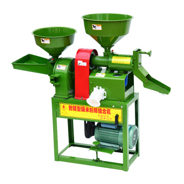 1ton per hour complete engine diesel rice mill machinery