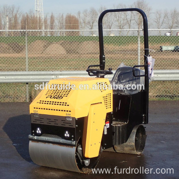 Hydraulic 800kg Double Drum Vibration Road Roller (FYL-860)