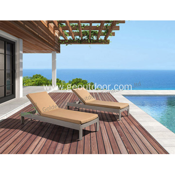 Hand Weaving UV-rezistente PE Rattan Lounge Outdoor
