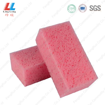 Pink car helpful cleaning sponge item