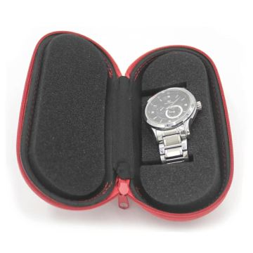 Easy carrying eva watch box leather pill case for eta movement