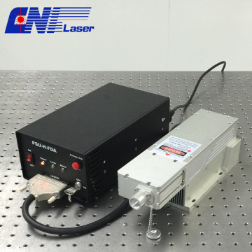 3w Q-switched 1064nm laser with short pulse duration