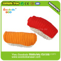 3.6*1.1*1.6cm 3d Sushi Shaped Eraser