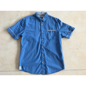100% Cotton Yarn Dyed Man Shirt