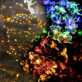 LED Multi Color Peach Flowers Lichterketten