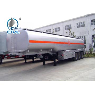 Three Axle Fuel Tanker Semi Trailer
