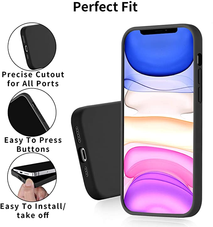 Soft Thick Protective Rubber Cell Phone Basic Cases