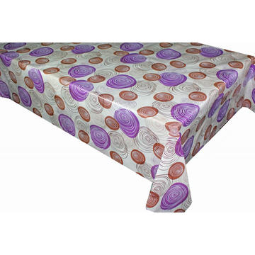 Elegant Tablecloth with Non woven backing Cheap