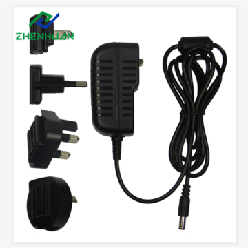14V 2.5A Safety Mark Replacement Multi Plug Adapter