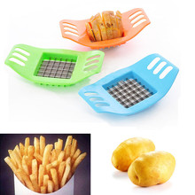 1Piece French Fry Potato Chip Cut Cutter Vegetable Fruit Slicer Chopper Chipper Blade Easy Kitchen Tools
