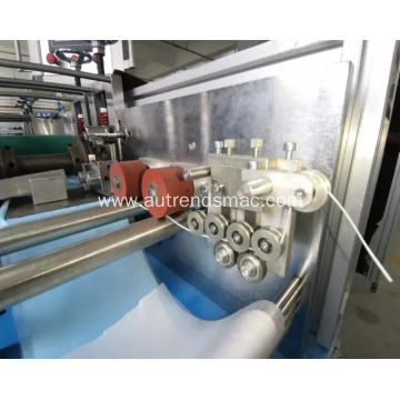 Semi-Auto Flat 3ply Face Mask Disposable Mask Making Machine with Ear-Loop Welder
