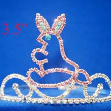 Easter Pink Cute Bunny Pageant Crowns