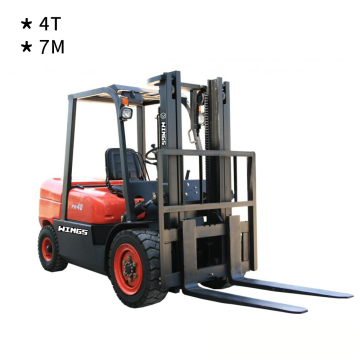 4 Tons Diesel Forklift(7-meter Lifting Height)