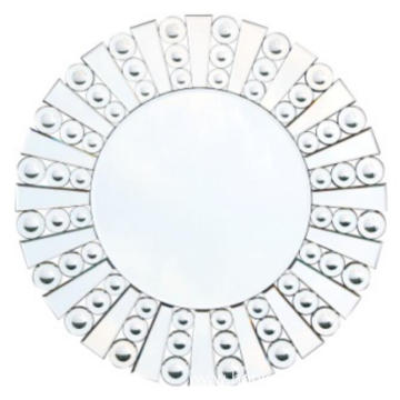 Round shape Hanging Mirror for bedroom