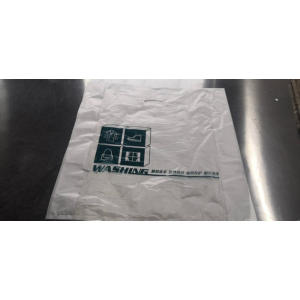 Cleaning Garment Poly Bag Transpare
