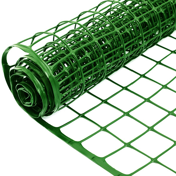 plastic garden fence net with edges