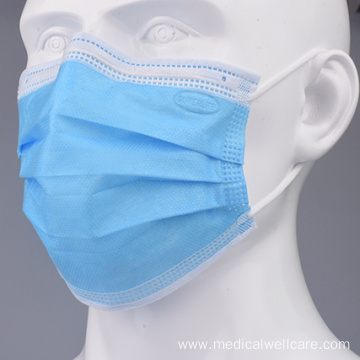 3 ply Non-woven Fabric Disposable Surgical Face Mask