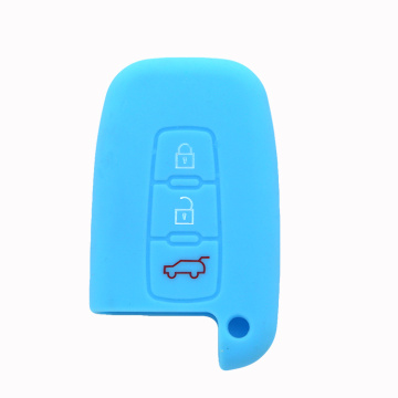 Fashion rubber Car Key shell for Hyundai