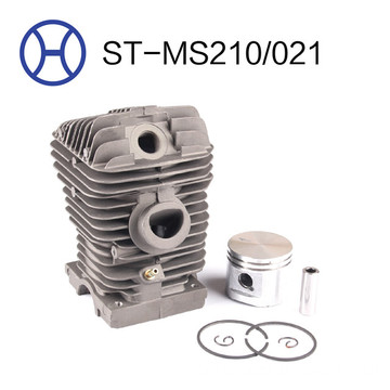 MS210/021 chainsaw spart parts cylinder piston kits