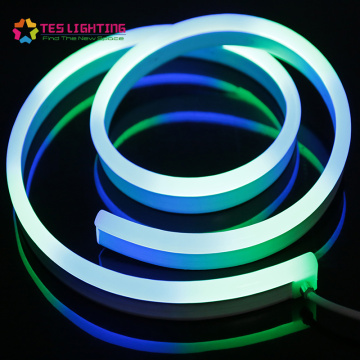 rgb led neon addressable dmx led neon flex