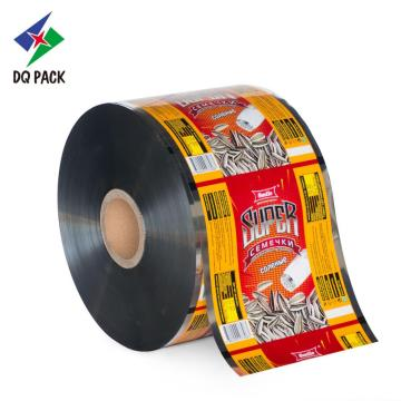 Automatic food grade plastic Packaging film roll for snack Packaging foil packaging