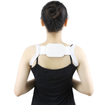 Breathable humpback clavicle strap