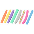 New Design Banana Shape Private Logo Curve Nail File