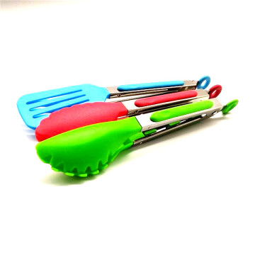 set of 3 mini nylon tongs