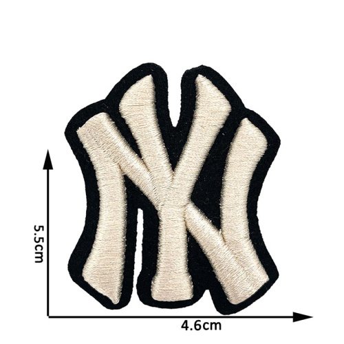 Embroidery factory cheap custom 3d logo puff patches