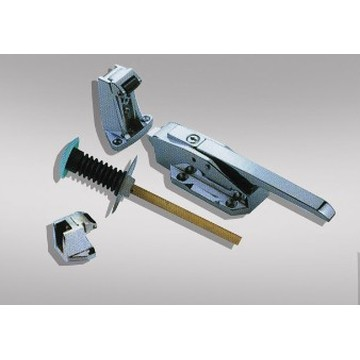 Refrigerated Truck Utility Door Locks and Hinges