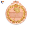 Badminton players gold bronze medal