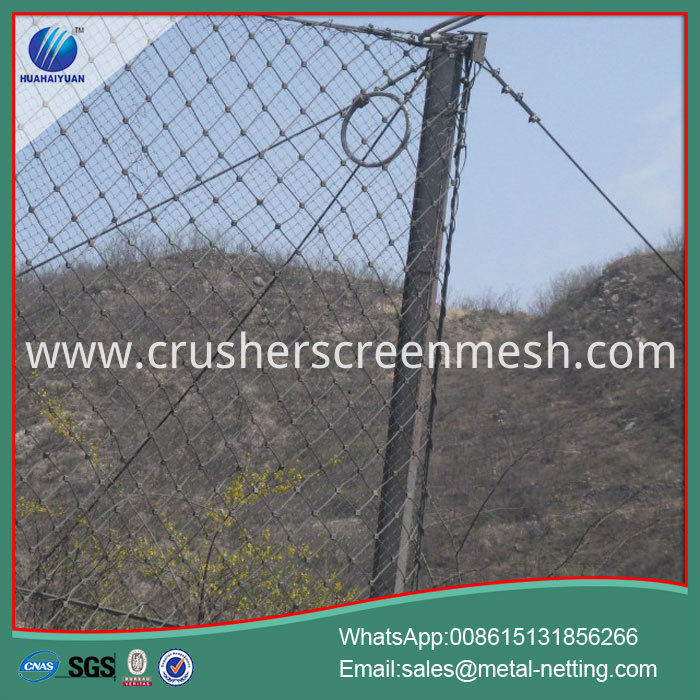 Rock Fall Fence Barrier