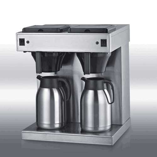 double head coffee machine