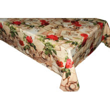 Polyvinyl Tablecloth with Tnt Back