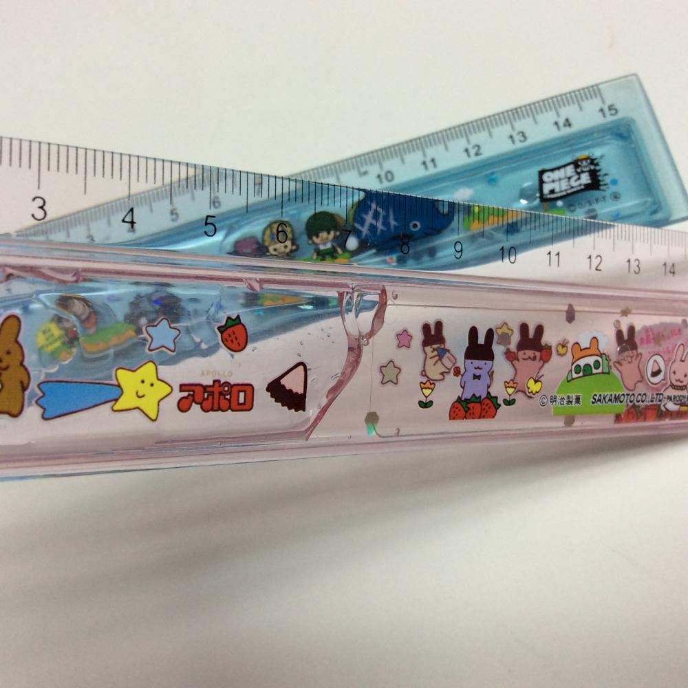 plastic liquid flow student ruler
