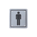 Stainless Steel Toilet Sign Wash Room