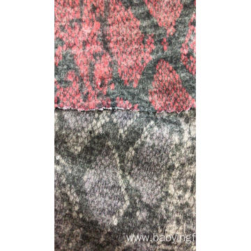 Coarse Wool Embroidery Fabric