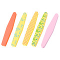 Custom Printed Diamond Shape Sponge Nail File 100/180