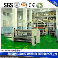 AL-3200SS 3.2m PP spunbonded non woven fabric making machine with double beam