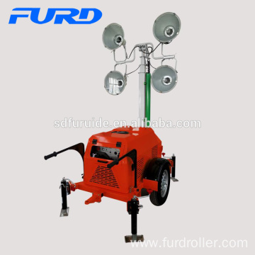 Diesel Generator Mobile Flood Lighting Tower (FZMT-1000B)