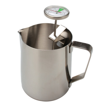 Stainless Steel Milk Jug with Thermometer