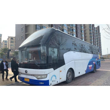 Used Yutong 35-40 seats coach bus with toilet , good condition