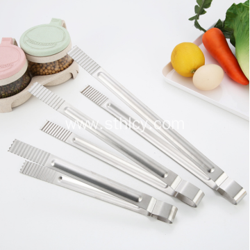 Stainless Steel Kitchen Tongs Set For Barbecue